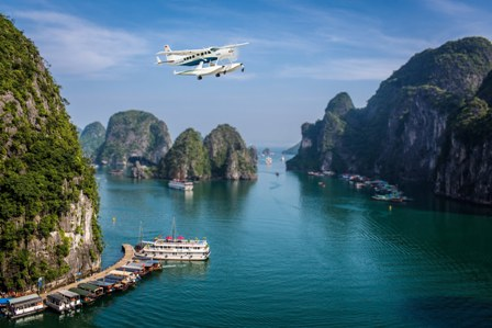 Halong Bay is in top 3 places to visit in South East Asia